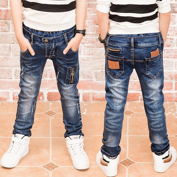 better price incredible prices latest style Boys Zipper Jeans, Jeans Wear Fashionable Style And High Quality Kids  Jeans, Boys Ripped Jeans, 3 5 7 8 9 10 11 13 14 Years Old Y18103008 Girls  Jeans ...