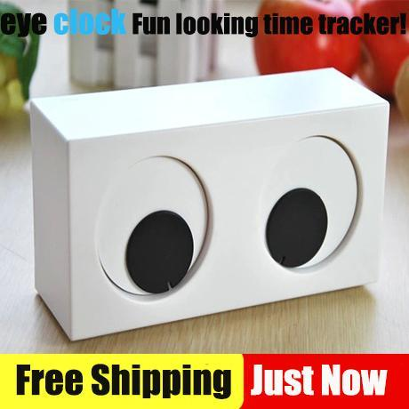 2015 Your Eyes Clocks Girl Beauty Desk Clocks Fun Looking The Tracker! Guess Watches Table Clock Creative Gifts