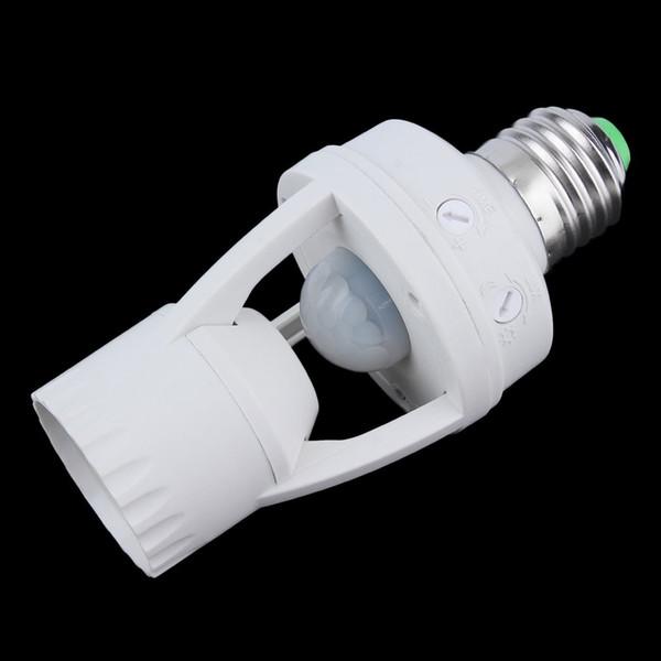 E27 LED Infrared Motion Detection Light Sensor Light Bulb Switch Home P25
