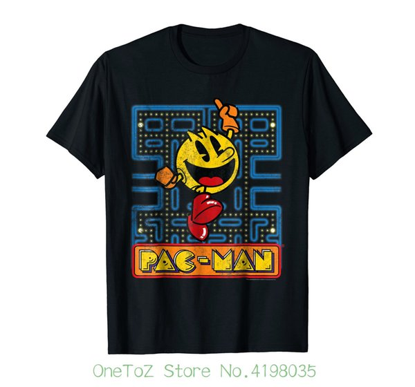 c760863b1 Pac - Man Discount Wholesale Number One Vintage Graphic T-shirt Printing  Casual T Shirt