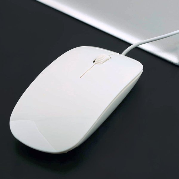 White USB 1600DPI Wired Optical Mouse Mice 4 For For Macbook MAC Laptop PC Notebook Hot Sale in stock!!!