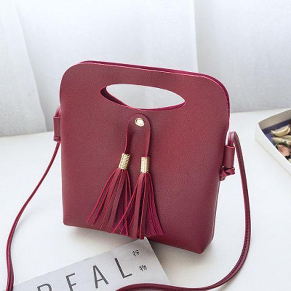 Mini crossbody Luxury handbag female designer bags for women shoulder bag female messenger bags ladies High quality tassel bag