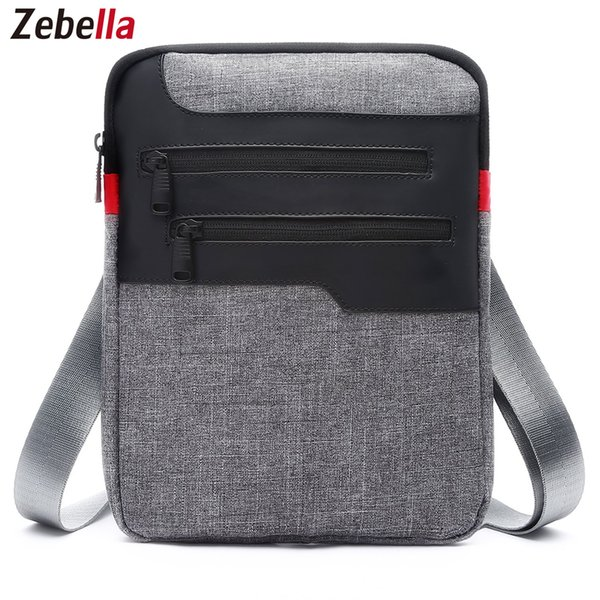 Rahat Erkek Messenger Omuz Çantası iPad Satchel Naylon Seyahat Iş Evrak Için Göğüs Paketi Çanta Sacoche Homme Sıcak Satış Çanta