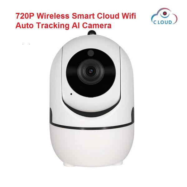 Хранение облака камеры АИ человеческого тела ККТВ камеры ИП 720П беспроводное умное вифи автоматическое отслеживая