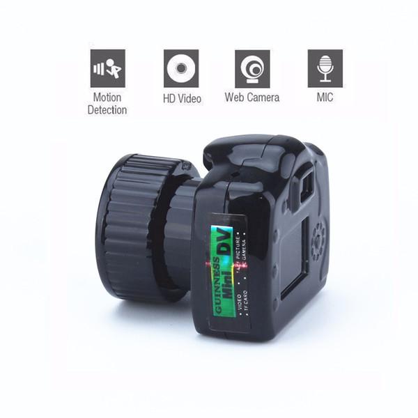 Cmos Super Mini Video Camera Ultra Small Pocket 480P DV DVR Camcorder Recorder Web Cam 720P JPG Photo