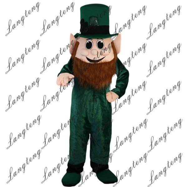 2018 New High Quality Dwarf Elf Genius Mascot Costumes For Adults Circus  Christmas Halloween Outfit Fancy Dress Suit Halloween Costumes For Kids