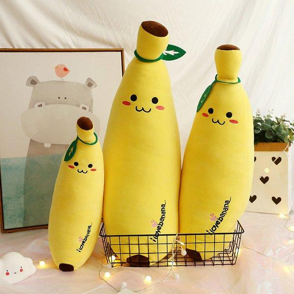 Фабрика прямых продаж перо хлопок, банан, длинная подушка, крупногабаритные фрукты, мягкая кукла, кукла, банановая подушка, опт Lovely Comfort