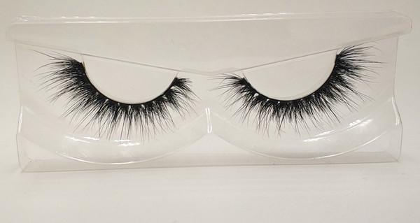 3D Mink False Eyelashes 100% Mink Fur Long Thick Hand-made Reusable Eyelashes Natural 1 Pair Pack MTL139
