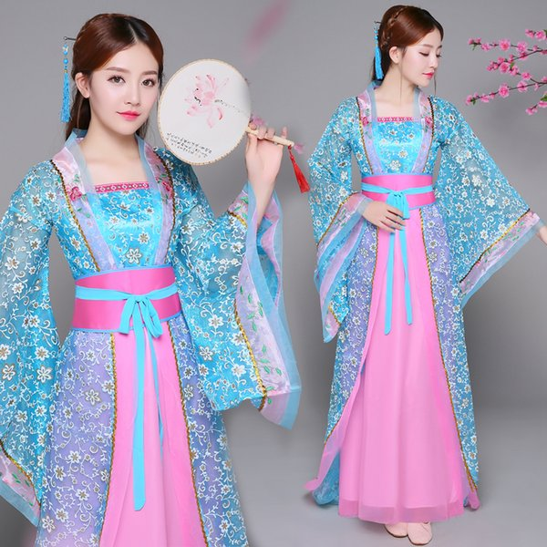 Traditional Chinese costume fairy Sexy Dress Cosplay party Hanfu Tang Suit Women Dress Chinese ancient princess gown stage performance wear