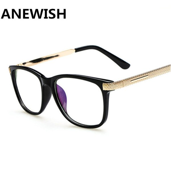 hot Cheap Unisex Fashion Anti-Radiation eyeglass Goggles Reading Glasses PC Computer Protective Eyewear Plain lenses Glass Frame