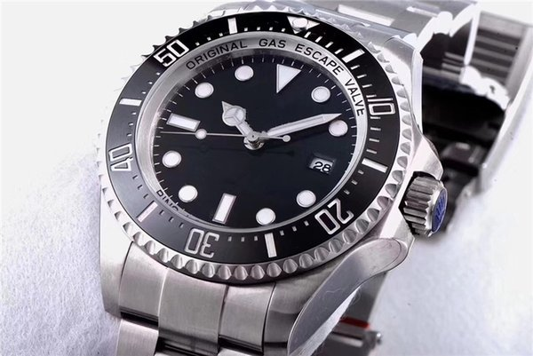 Luxury Mens Watch GMT AAA ceramic bezel men's automatic mechanical business black wrist watches free shipping