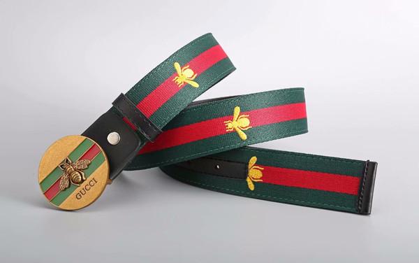 Nuevos cinturones de negocios para hombre de la moda Cinturones de cuero genuino de la hebilla de lujo para la correa de la cintura de los hombres
