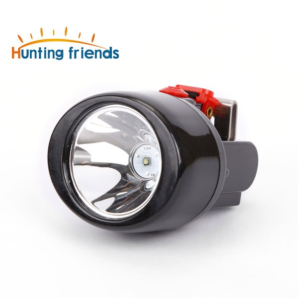 12pcs/lot Hunting Friends Wireless LED Miner Lamp KL3.0LM Waterproof Headlight Explosion Rroof Cap Lamp Rechargeable Mining Headlamp