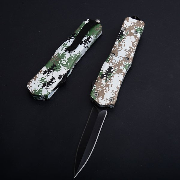 army green handle Double sided