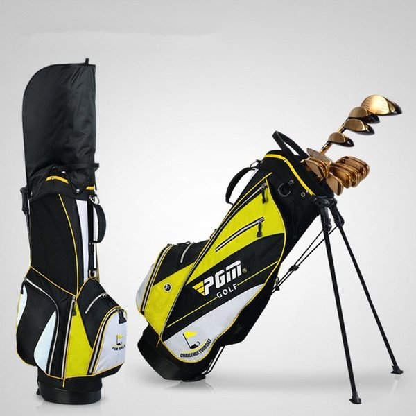 Golf Bag Golf Rack Bag Ball Bag Comes with Pull Rod Pulley High Hardness Plastic Base Advanced Outdoor Fabric Handbag Material