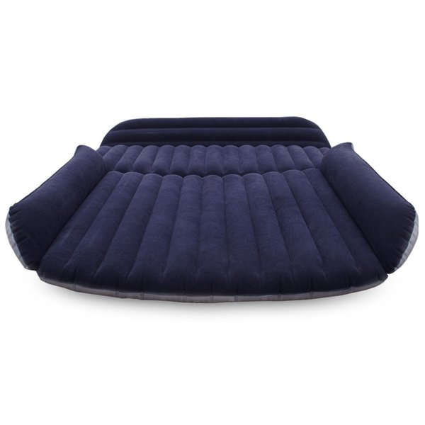 Universal Car Beds Deflatable Air Inflation Car Bed Mattress Back Seat Camping Flocking PVC Original Drive Travel Car Seat Cover Automobile