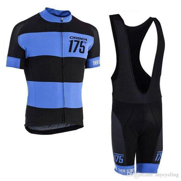 Ropa Ciclismo New Team ORBEA Cycling jersey 2018 Short sleeves road bike shirts shorts set Breathable Pro Cycling Clothing MTB maillot F2713