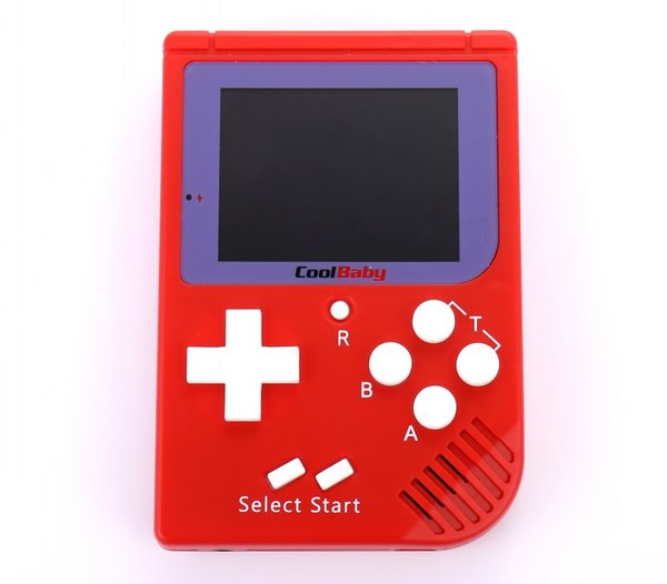 CoolBaby RS-6 Portable Retro Mini Handheld Game Console 8 bit Color LCD Game Player For FC Game DHL Free Shipping