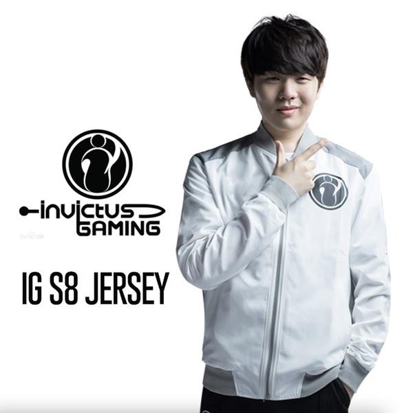 30c680a2 Großhandel 2018 LOL World Championship Winner IG S8 Jacke Invictus Gaming  Team Trikot The Shy Rookie Jackeylove Jacke LPL LOL Pro League Von ...