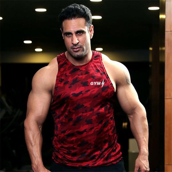 Camicia da uomo attillata fitness camicie da uomo top gilet per uomo quick dry allenamento palestra o-collo maniche camicie XXL