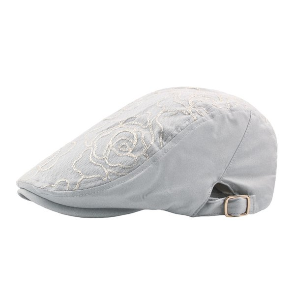 Wholesale 4 Colors Embroidery Floral Cotton Berets Snapbacks Casquette Baseball Cap Designer Hat Dad Hat Bucket Fitted Hat Brand Hats