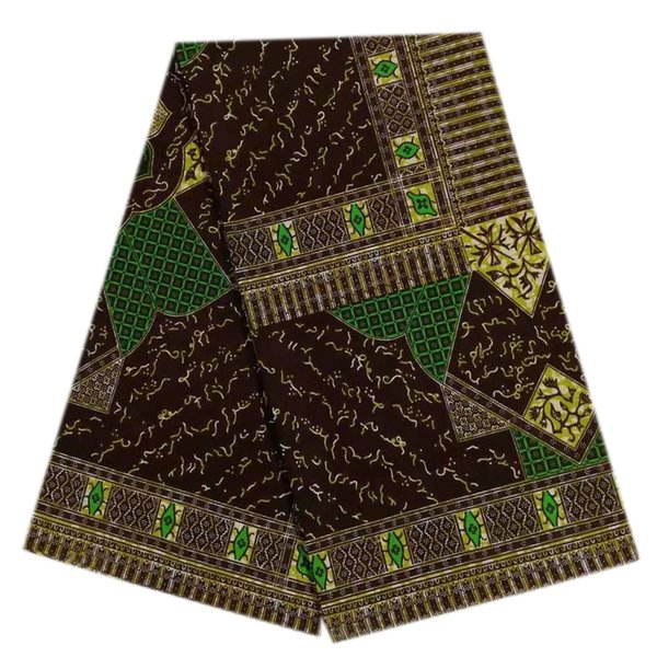 Newest Guaranteed veritable African Wax Prints 100% Cotton Fabric Sewing Material High Quality African Veritable Wax Hollandais Fabric