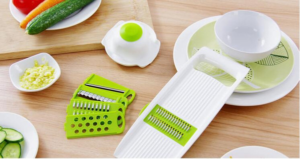 Kitchen multi-function cutting device fruit and vegetable grater household cutting potato wire cutter cucumber slicer grater