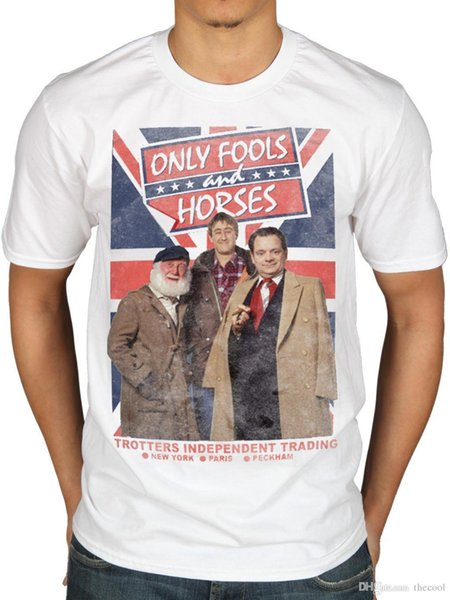 Official Only Fools And Horses Trotters Independent Trading T-Shirt Del Boy TV