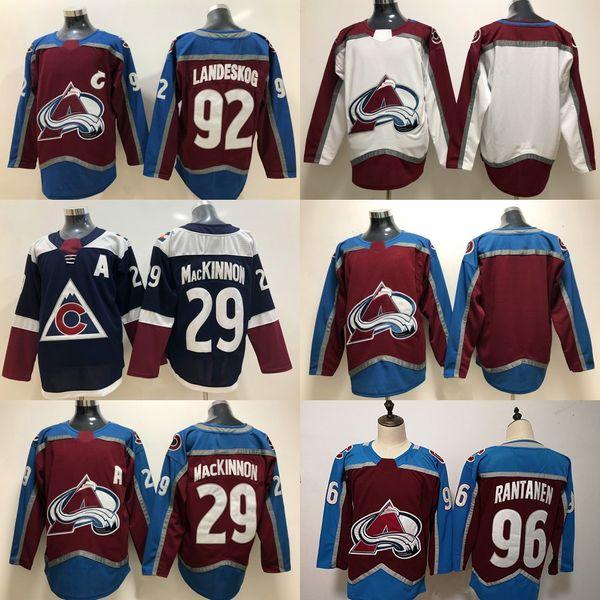 info for 2d46f abc19 2019 2018 19 Season 96 Mikko Rantanen 92 Gabriel Landeskog 29 Nathan  MacKinnon Colorado Avalanche New Third Hockey Jerseys From Felixtrading,  $20.32   ...