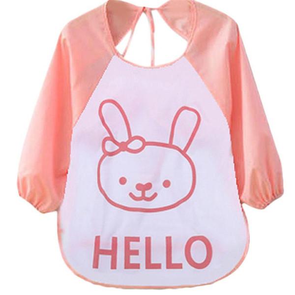 baby boy Girl colors baby Bibs bandana Kids Child Cartoon Translucent Plastic Soft baby bibs waterproof baberos