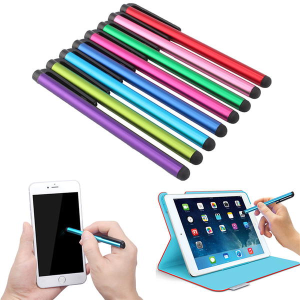 5PCs Suit for Universal Smart Phone Tablet PC Screen Pens Capacitive Touch Screen Stylus Pen for iPhone 5 4s iPad 3/2 iPod Touch