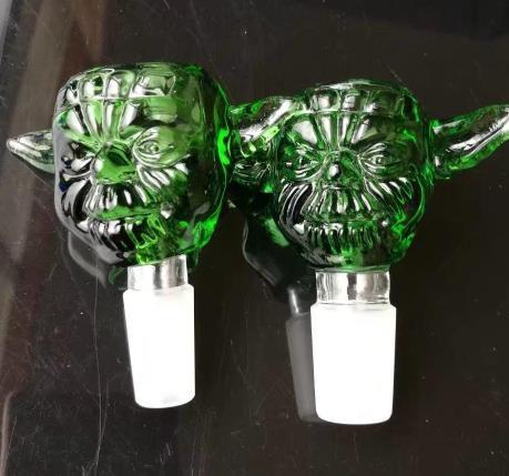 18mm Smoking Bowl Holder,dry herb holder for glass bong,for glass hookah, Mixed Colors Slide Snake Shape Black/Green Free Shipping Dogo