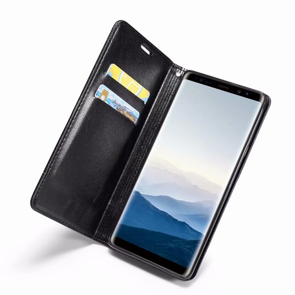 Magnetic Closure Leather Wallet Case For Huawei P20 Lite (Y9 Y6 Y7 Pro)2018 Suck Luxury ID Card Slot Hybrid Flip Cover Luxury Phone Pouches
