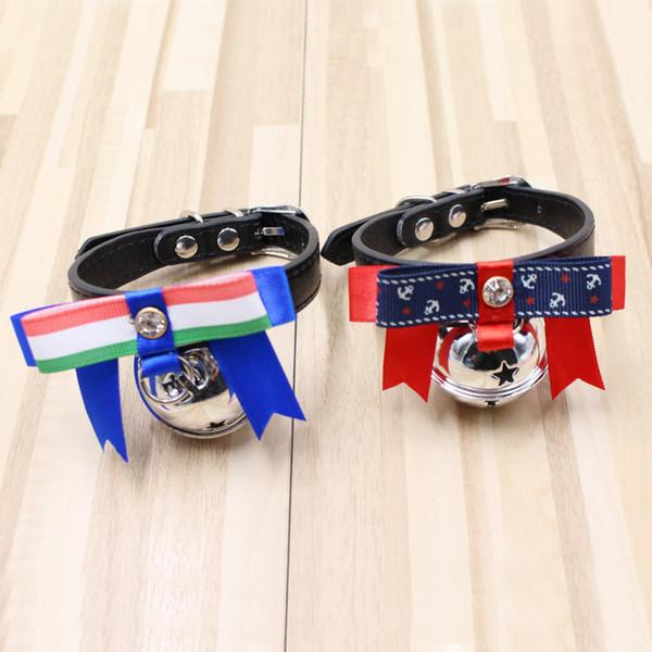 Pet Supplies Hundehalsbänder Sicherheit Neue Muster Mode Einstellbare Halskette Große Bow Star Tie Necklet Multicolor Können Wählen 3 8he jj