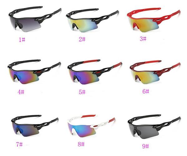 Sommer neuesten Stil nur SUN Gläser 22 Farben Sonnenbrille für Männer Fahrrad Gläser NICE Sport Sonnenbrille Blenden Farbe Glas A +++