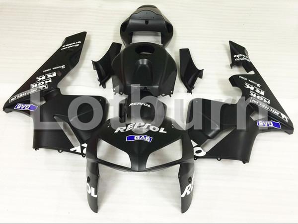 Black Fairing Kit Fit For Honda CBR600RR CBR600 CBR 600 RR 2005 2006 F5 Fairings Custom Made Motorcycle Bodywork Injection Molding A605