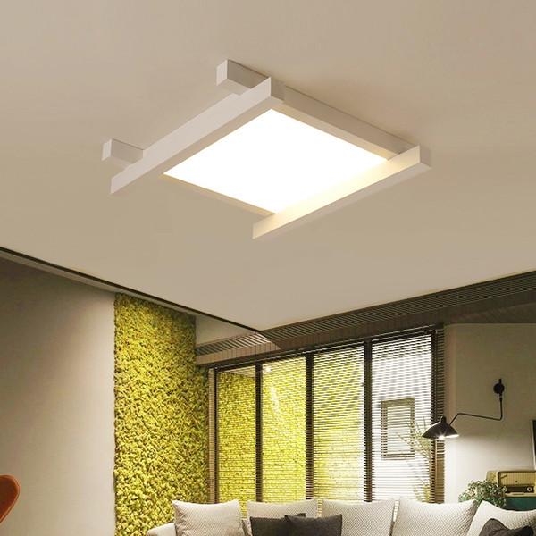 LED Moderne Deckenleuchten Kreative Acryl Leuchten Kinder Schlafzimmer  Deckenleuchten Nordic Neuheit Eisen Quadratische Beleuchtung