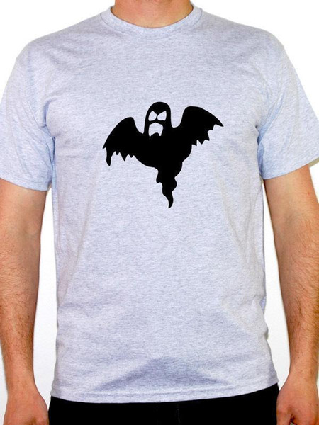 GHOST SILHOUETTE - T-shirt Homme à thème Halloween / Scary / Zombies / Novelty