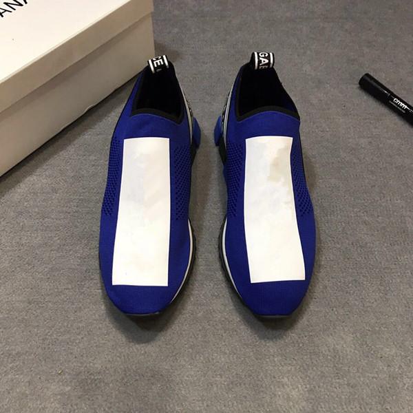 Zapatos de zapatillas de deporte Arena más modernos Zapatos de cuero degradado para hombres Zapatos formadores para caminar Zapatos planos 35-45 ML 01