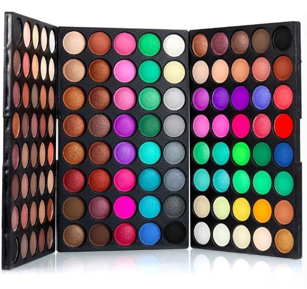 Directo de fábrica Sombra de ojos 120 colores sombra de ojos paleta paleta de moda sombra de ojos maquillaje de alta calidad envío libre de DHL