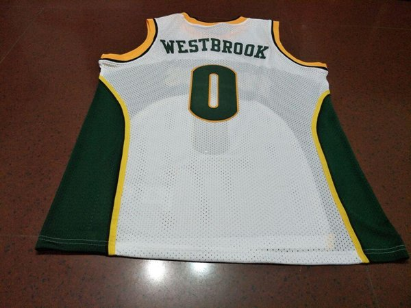 meet bc1af de4a2 2017 Men #0 Russell Westbrook Jersey Authentic College Vintage Jersey Size  S Xxxl Or Custom Any Name Or Number Jersey From Ncaa001, $16.29 | ...