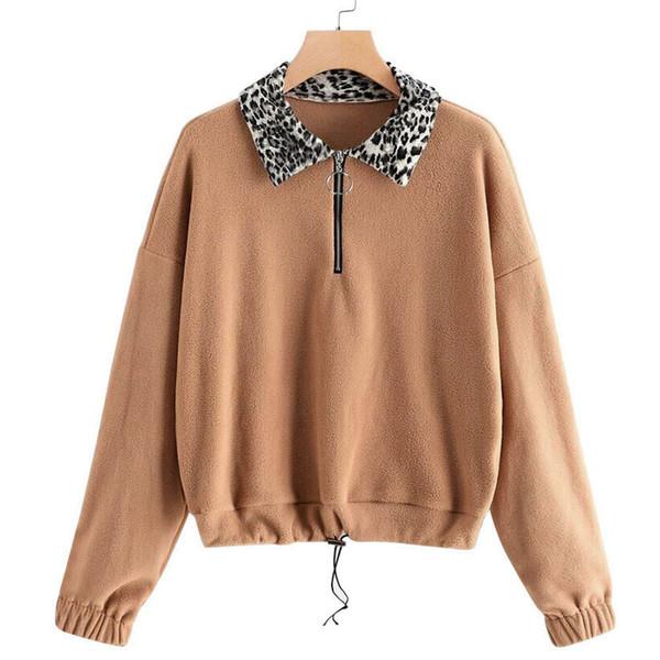 Mulheres Plus Size Quente Macio Inverno Casual Zip Up Moletom Pullovers Outwear Sudadera Mujer Moletom Feminino Hoodies Mulheres 5