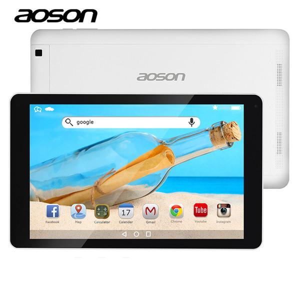 AOSON 10,1 Zoll Spiel Tablet Android 6.0 wifi Tabletten 16 GB ROM 1 GB RAM MTK8163 Quad Core HD 1280 * 800 IPS-Bildschirm wifi Dual-Kameras