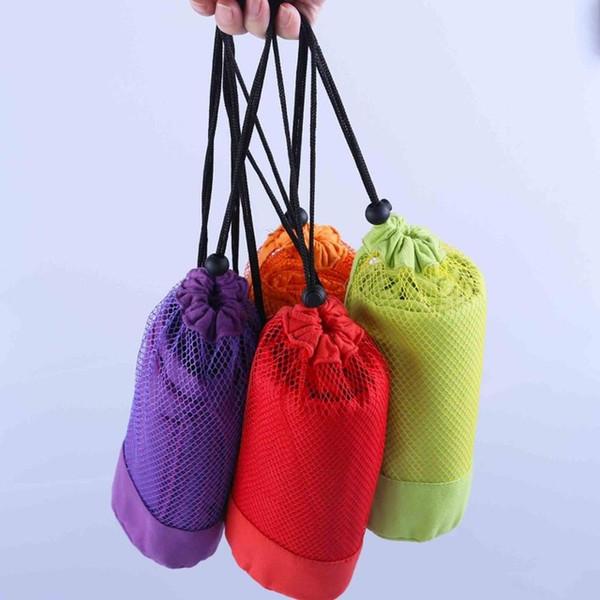 Sports Towel 4pcs /Lot Microfiber 70x130cm Larger Size Travel Jogger Cloth With Bag Toalha De Esportes Camping Swim Gym Washcloth