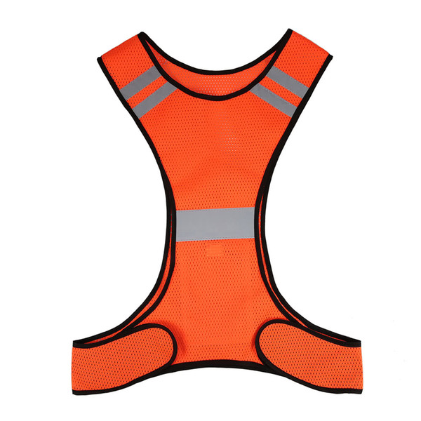 Y4352C Lightweight Breathable Mesh Reflective Vest High Visibility Safety Vest Gear for Running Walking