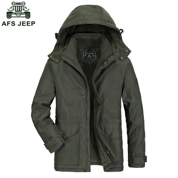 2018 New Fashion Mens Long Winter Coat Casual Coon Young Men Thick Warm Hooded Coon Down Jackets For Winter D185