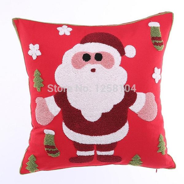 Festival de Natal Capa de Almofada Papai Noel fronha Snowflake Pillow presente de Natal da tampa Decoração Nova