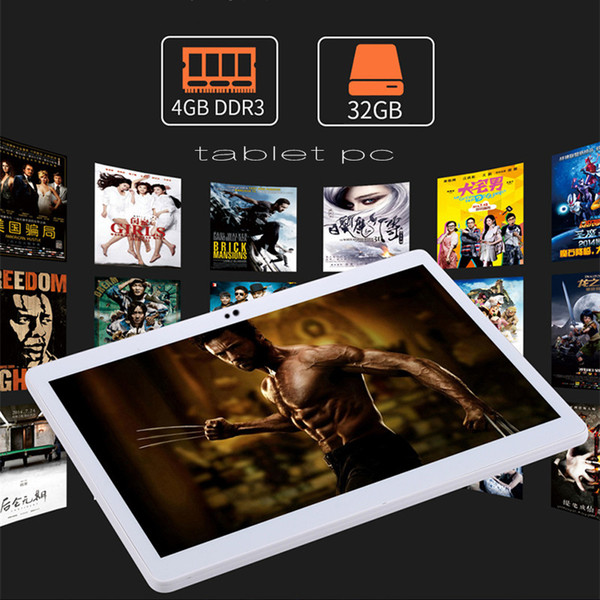 BMXC 10.1 inch Big box speaker Android 7.0 Octa Core 32GB Tablet pc 3G 4G LTE smartphone Wifi Bluetooth GPS Game machine tablets