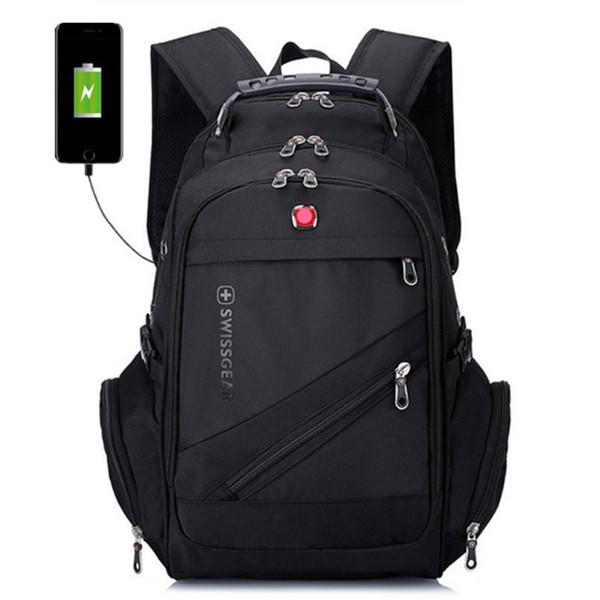 Swiss Multifunctional Backpack Travel Bags Hiking Camping Backpacks Laptop Bag Schoolbag Sport Gym Outdoor Duffel Bag