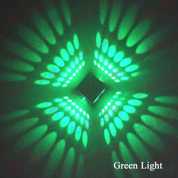 3W 녹색 불빛
